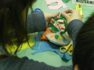 κατασκευές για παιδιά στο χώρο του Bazaar